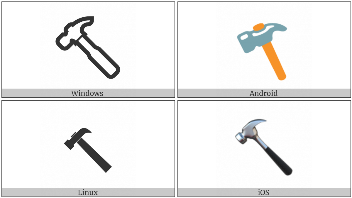 Hammer on various operating systems