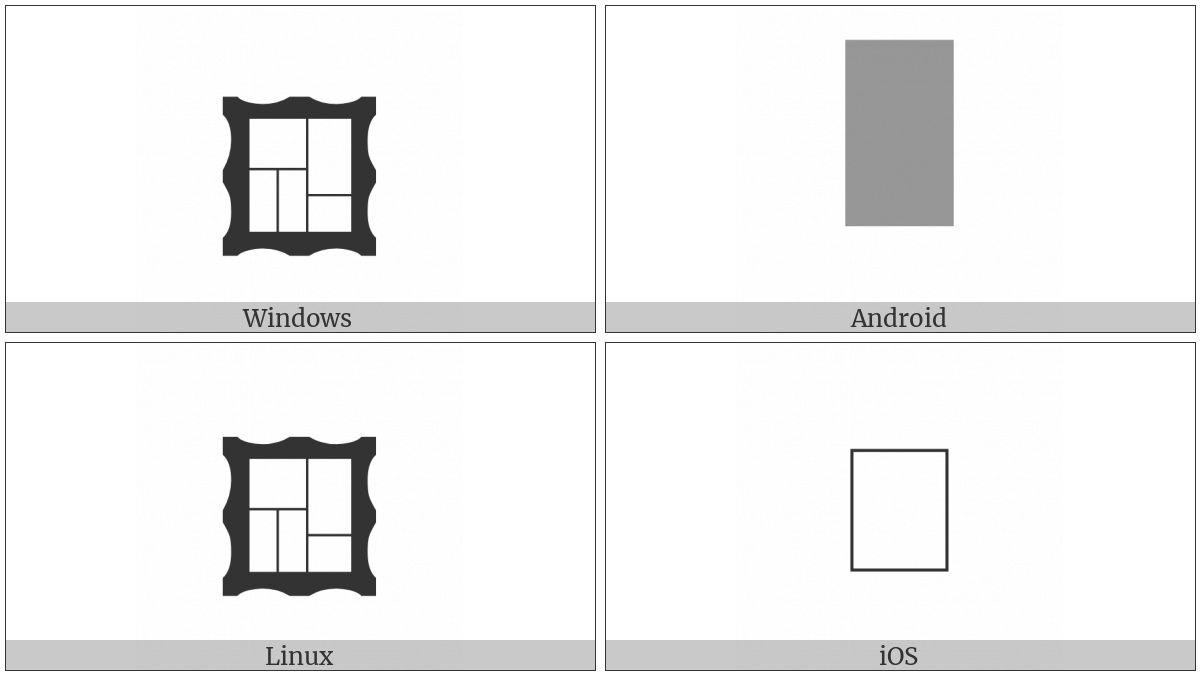 Frame With Tiles on various operating systems