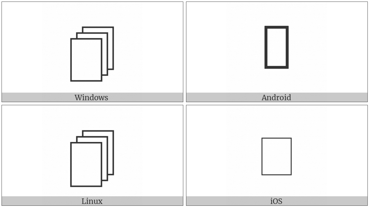 Empty Pages on various operating systems