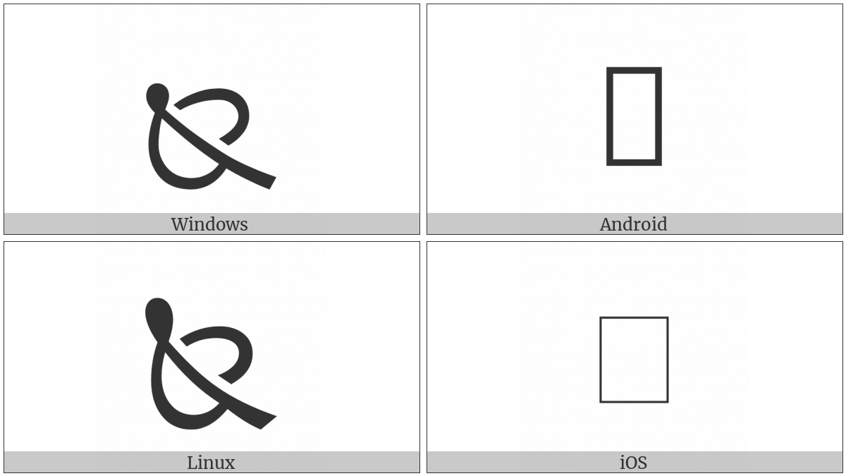 North West Pointing Leaf on various operating systems
