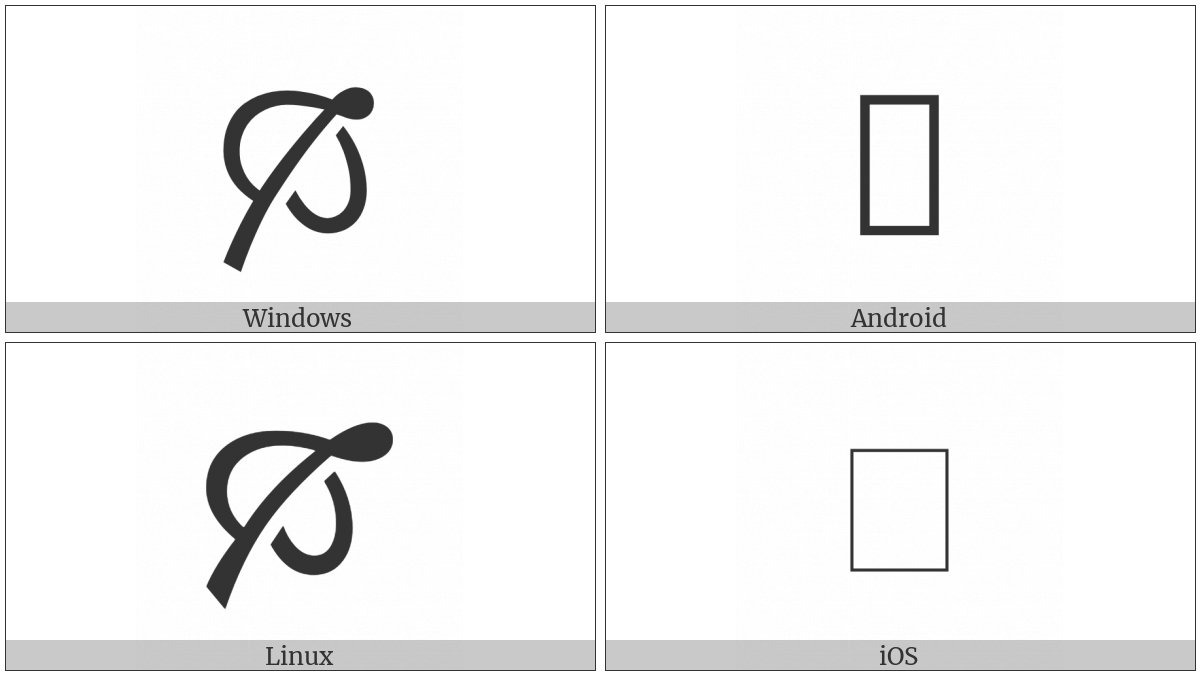 North East Pointing Leaf on various operating systems