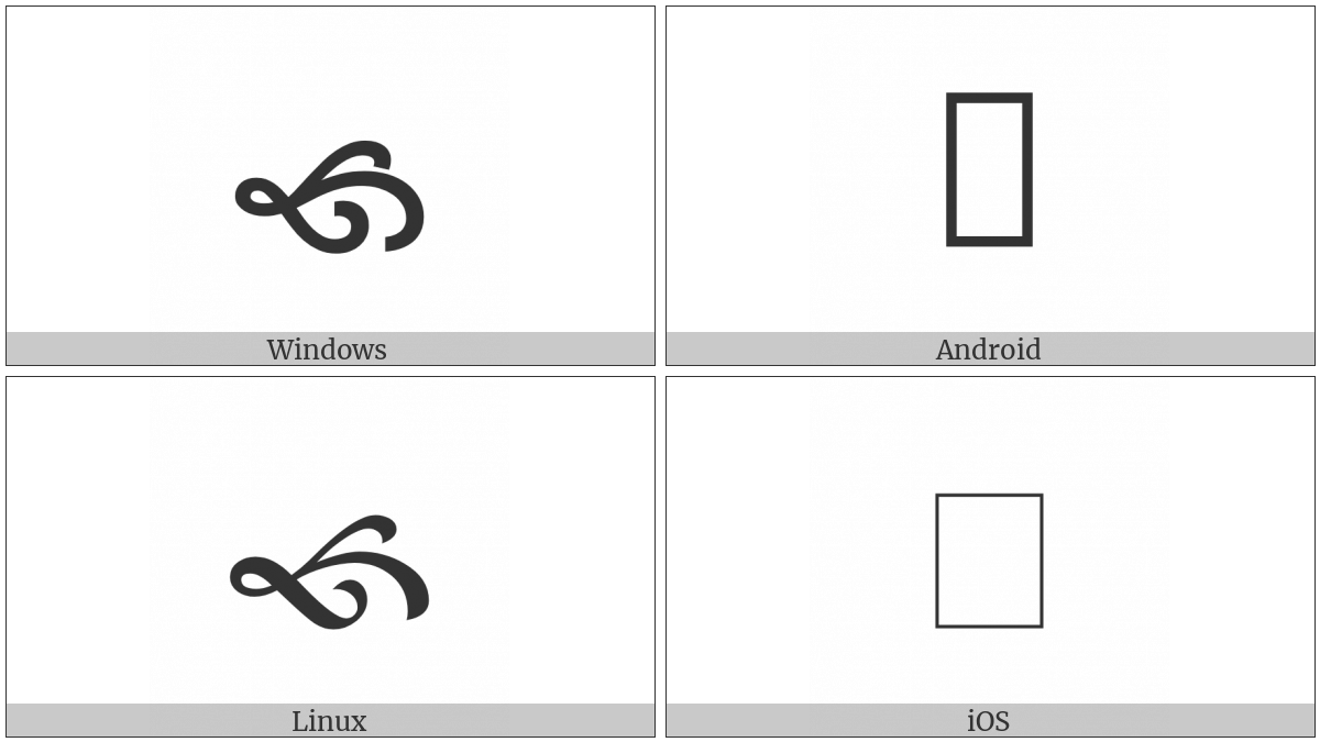 North West Pointing Vine Leaf on various operating systems