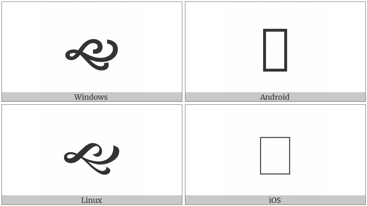 South West Pointing Vine Leaf on various operating systems