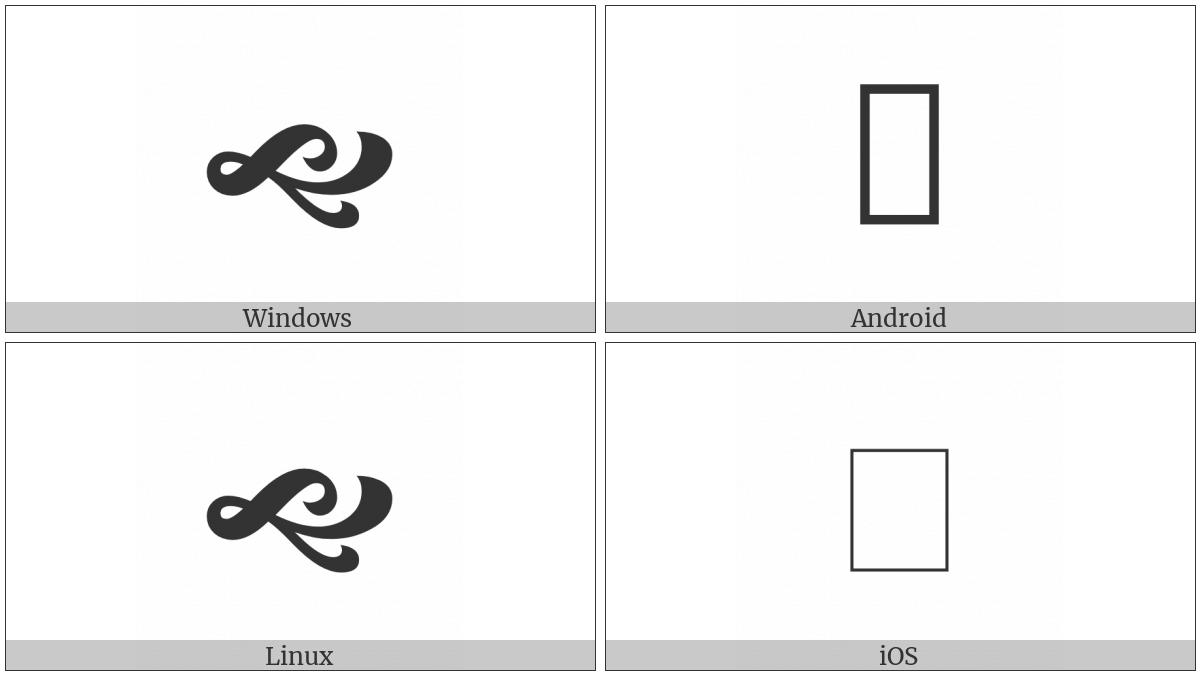 Heavy South West Pointing Vine Leaf on various operating systems