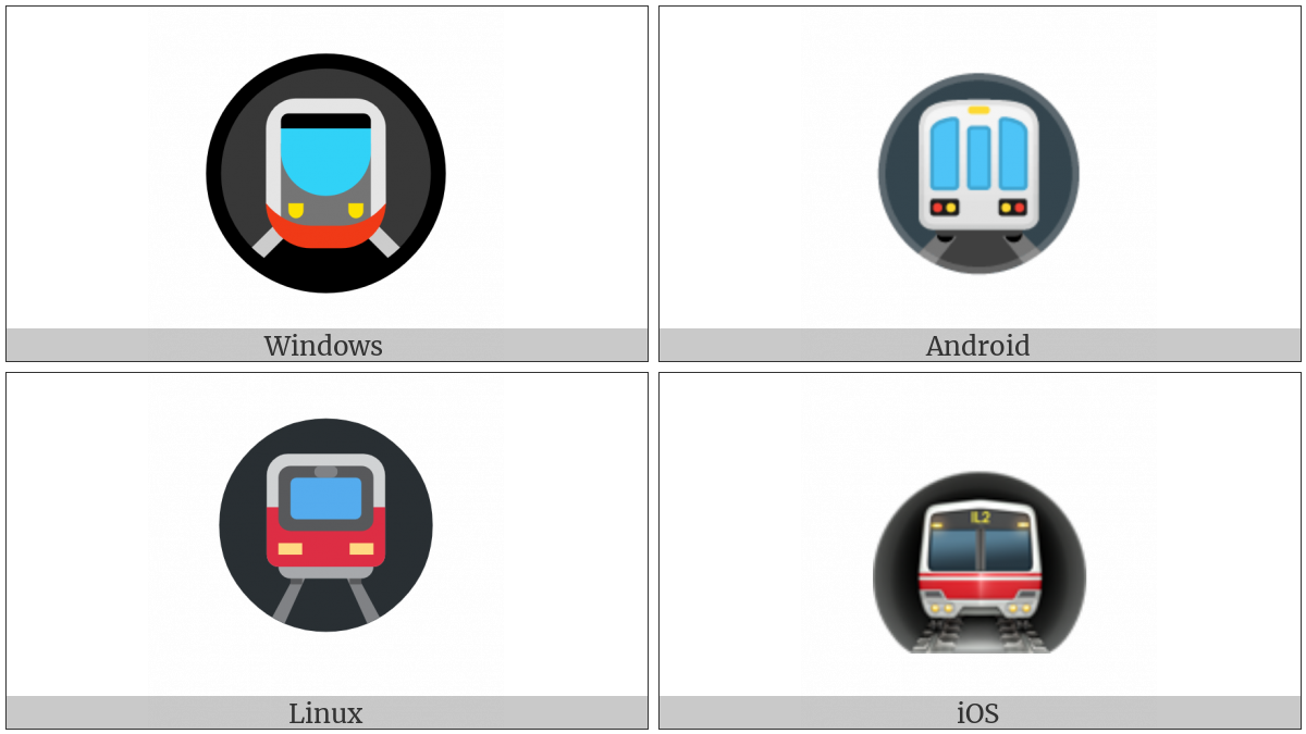 Metro on various operating systems