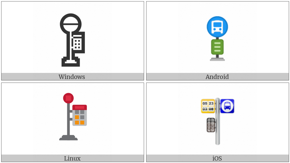 Bus Stop on various operating systems