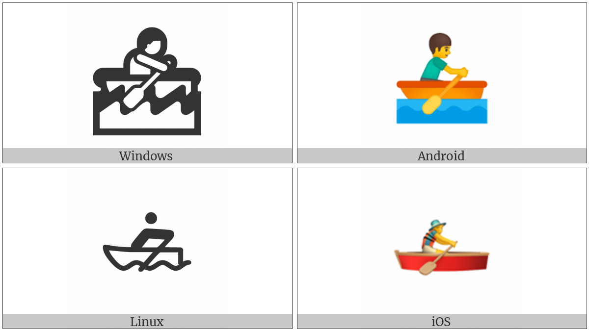 Rowboat on various operating systems