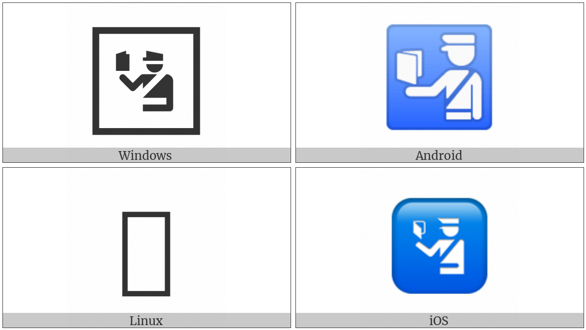 Passport Control on various operating systems