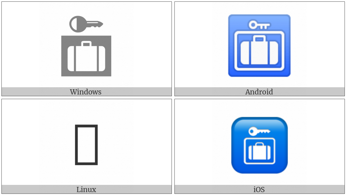 Left Luggage on various operating systems