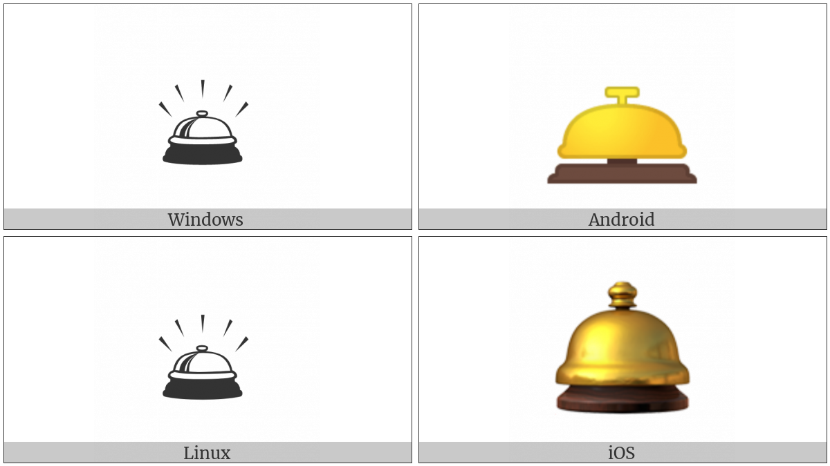 Bellhop Bell on various operating systems