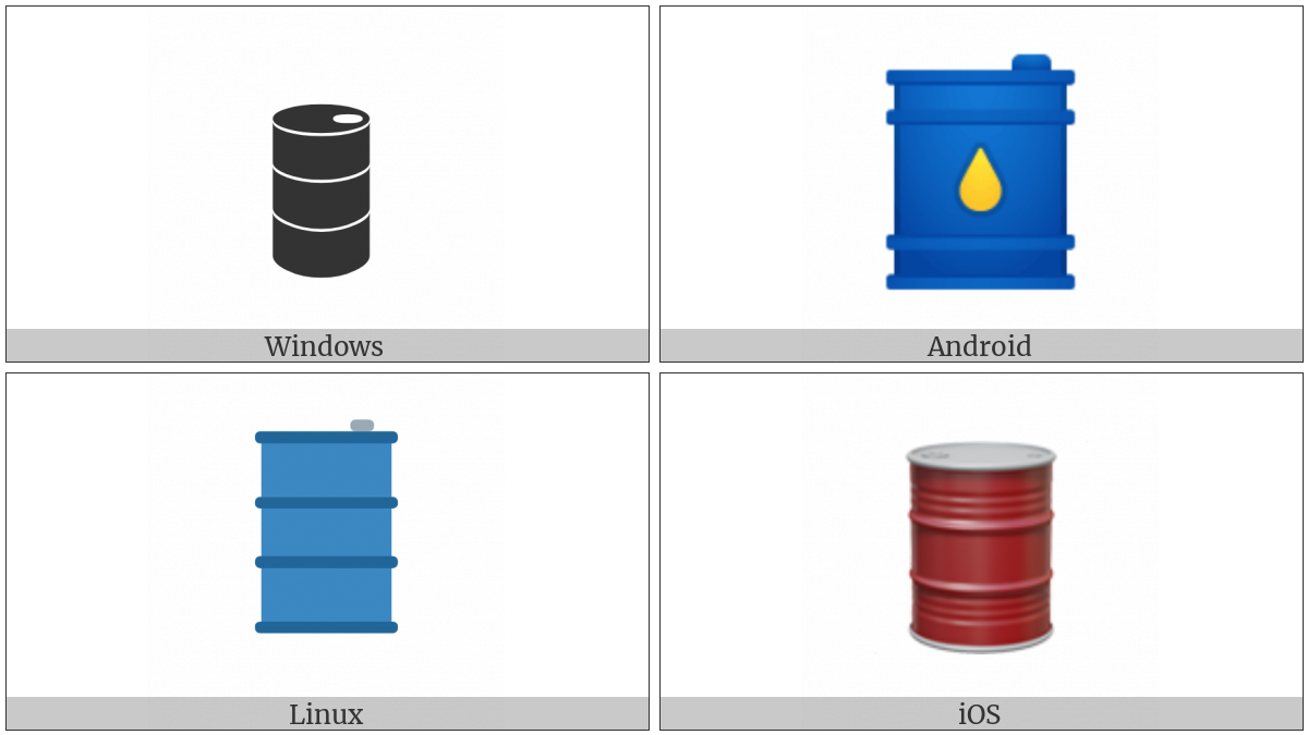 Oil Drum on various operating systems