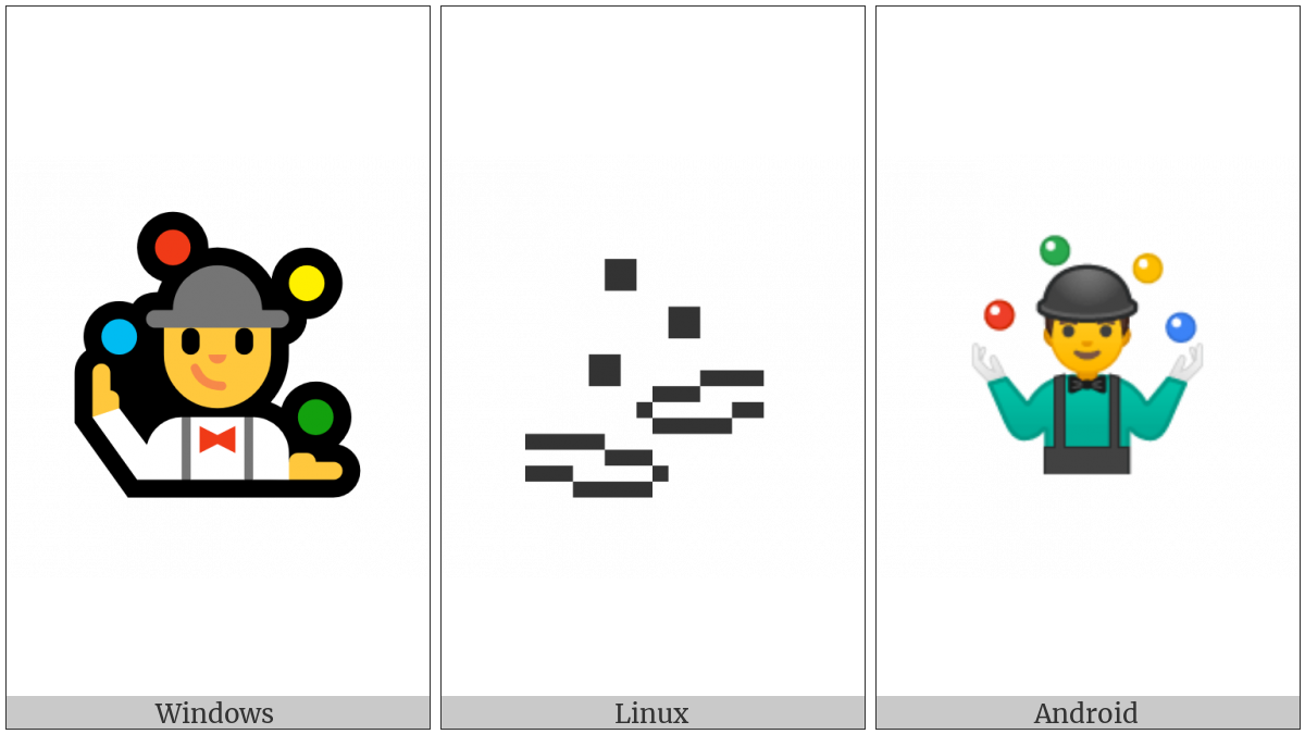 Juggling on various operating systems