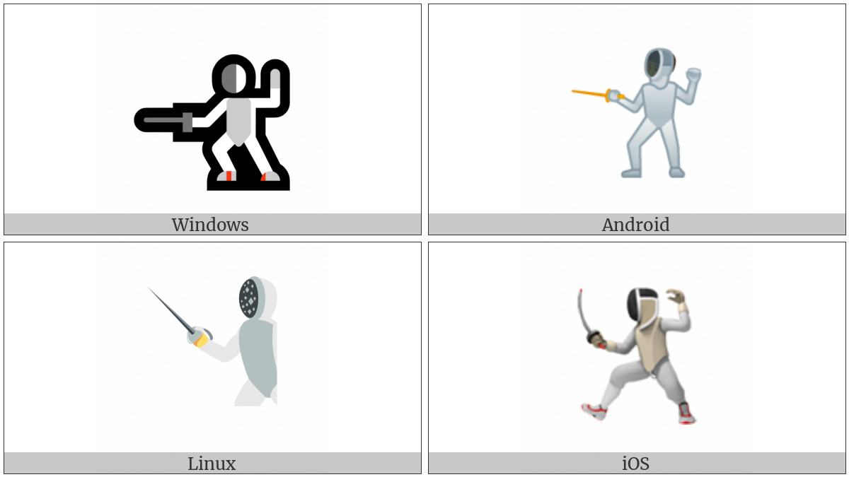 Fencer on various operating systems