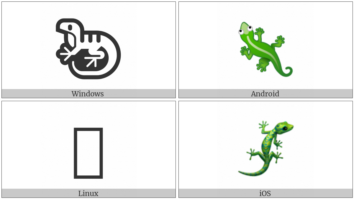 Lizard on various operating systems