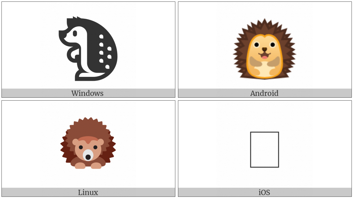 Hedgehog on various operating systems