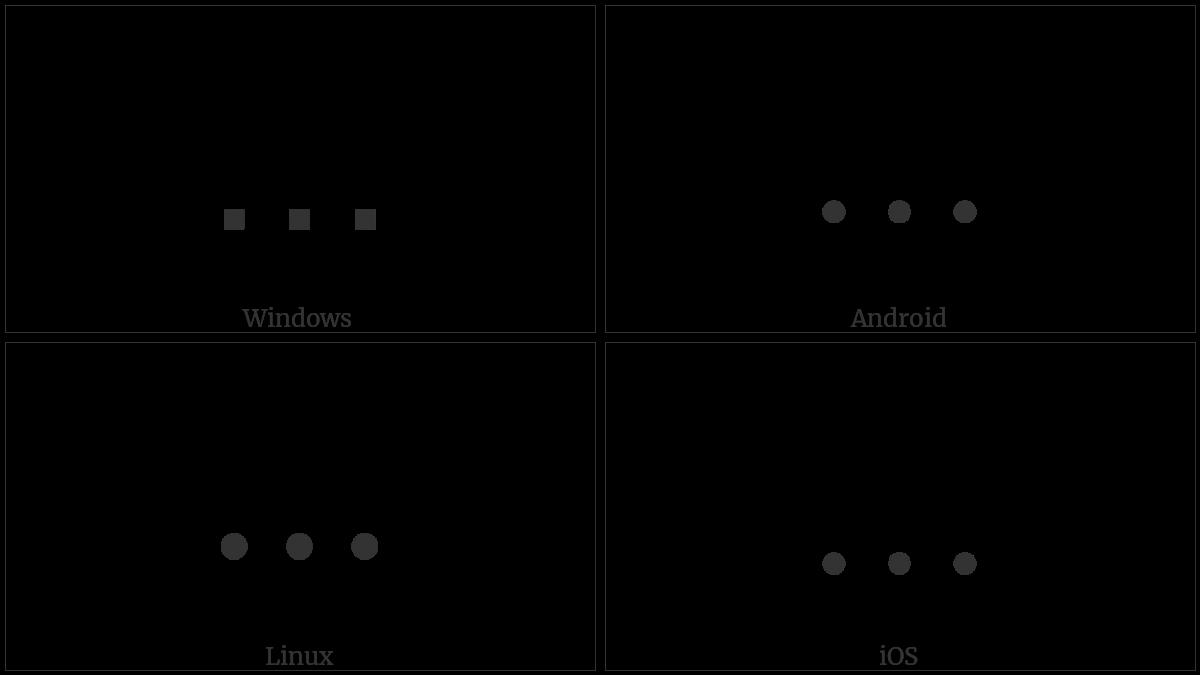 CONTROL CHARACTER utf-8 character