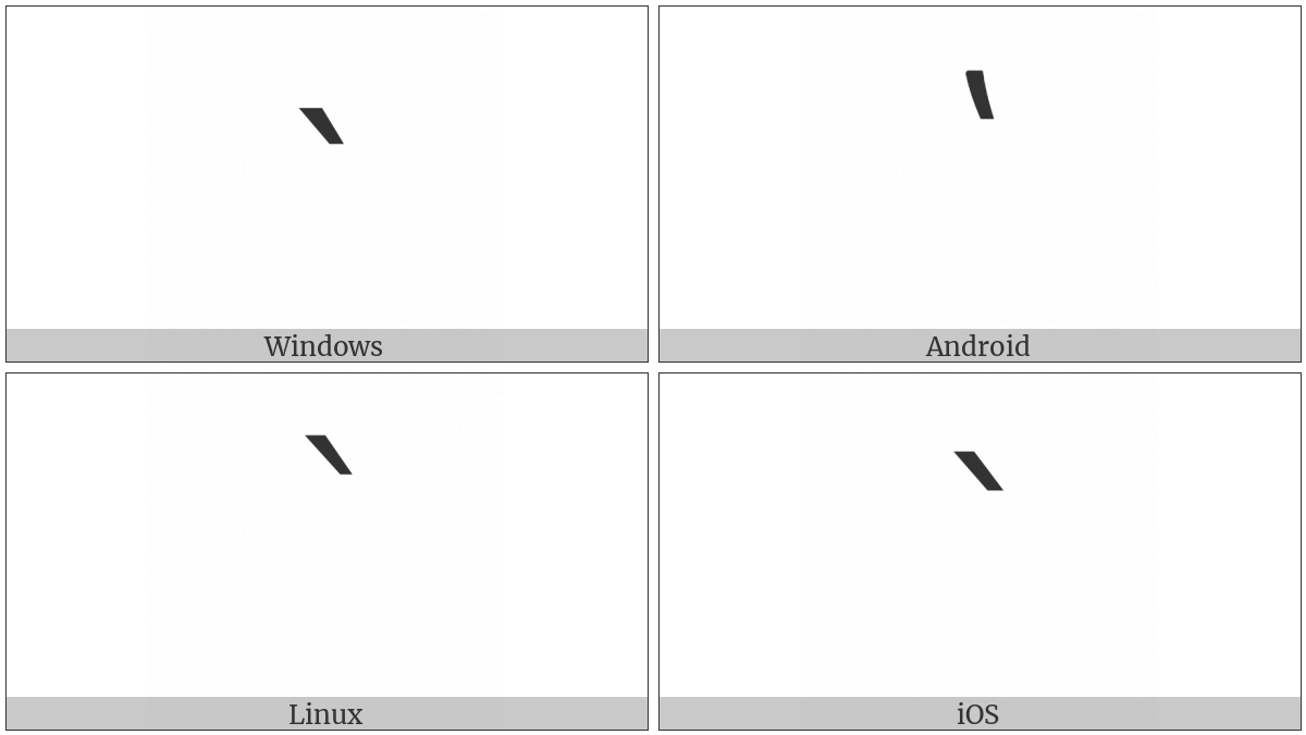 Armenian Comma on various operating systems