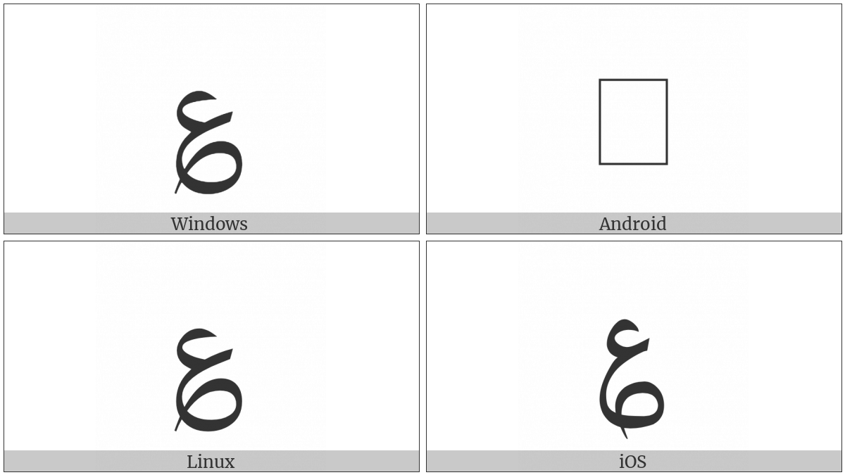 Arabic Sign Misra on various operating systems