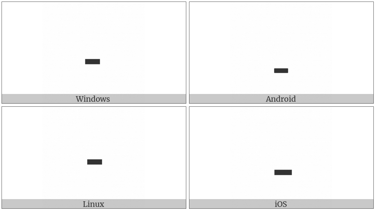 Arabic Tatweel on various operating systems