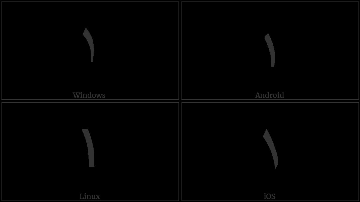 ARABIC-INDIC DIGIT ONE utf-8 character