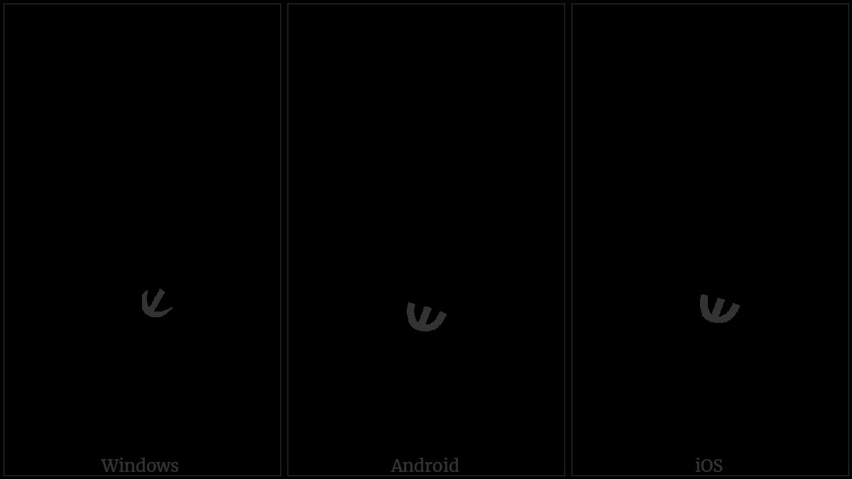 Syriac Rbasa Below on various operating systems