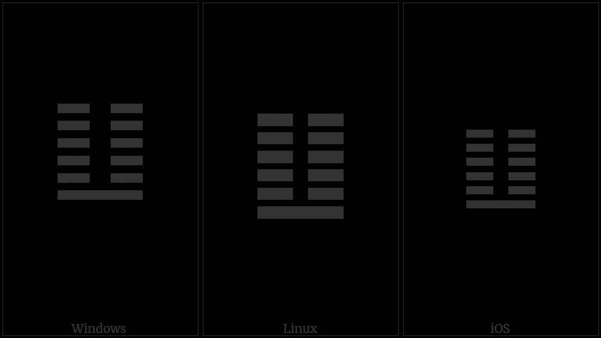 Hexagram For Return on various operating systems