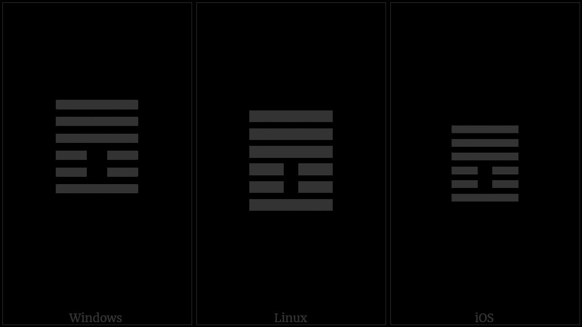 Hexagram For Innocence on various operating systems