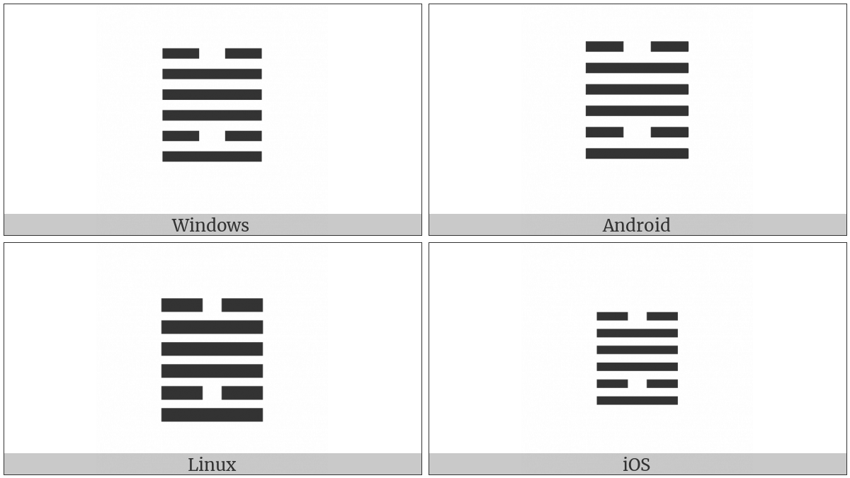 Hexagram For Revolution on various operating systems