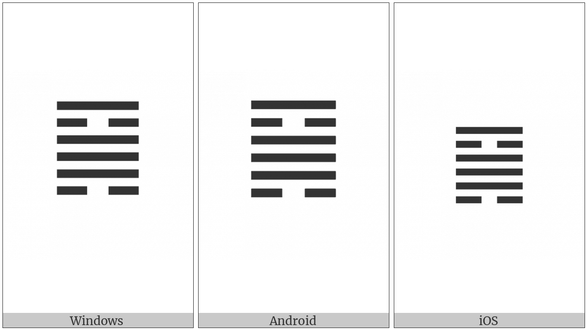 Hexagram For The Cauldron on various operating systems