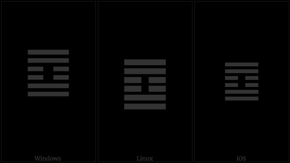 Hexagram For Inner Truth on various operating systems