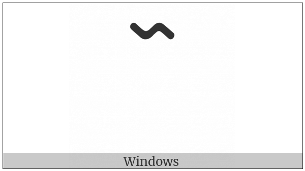 Nko Combining Long Low Tone on various operating systems