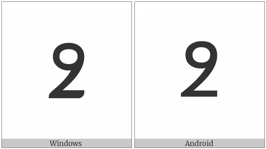 Nko Symbol Oo Dennen on various operating systems