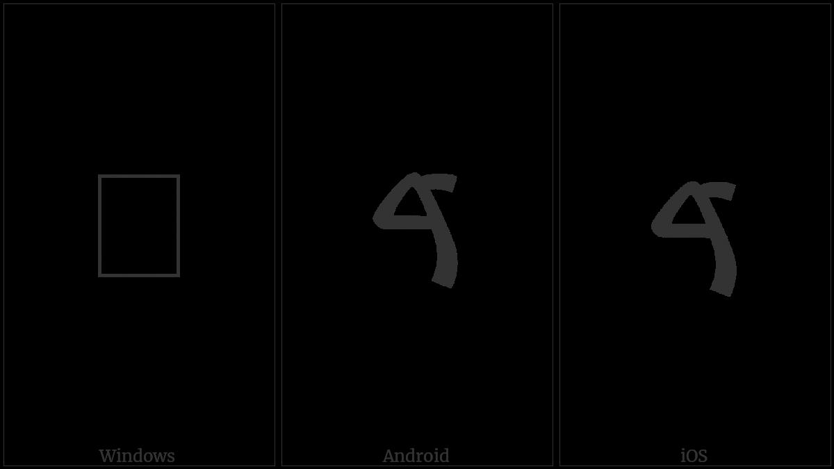 Samaritan Letter Dalat on various operating systems