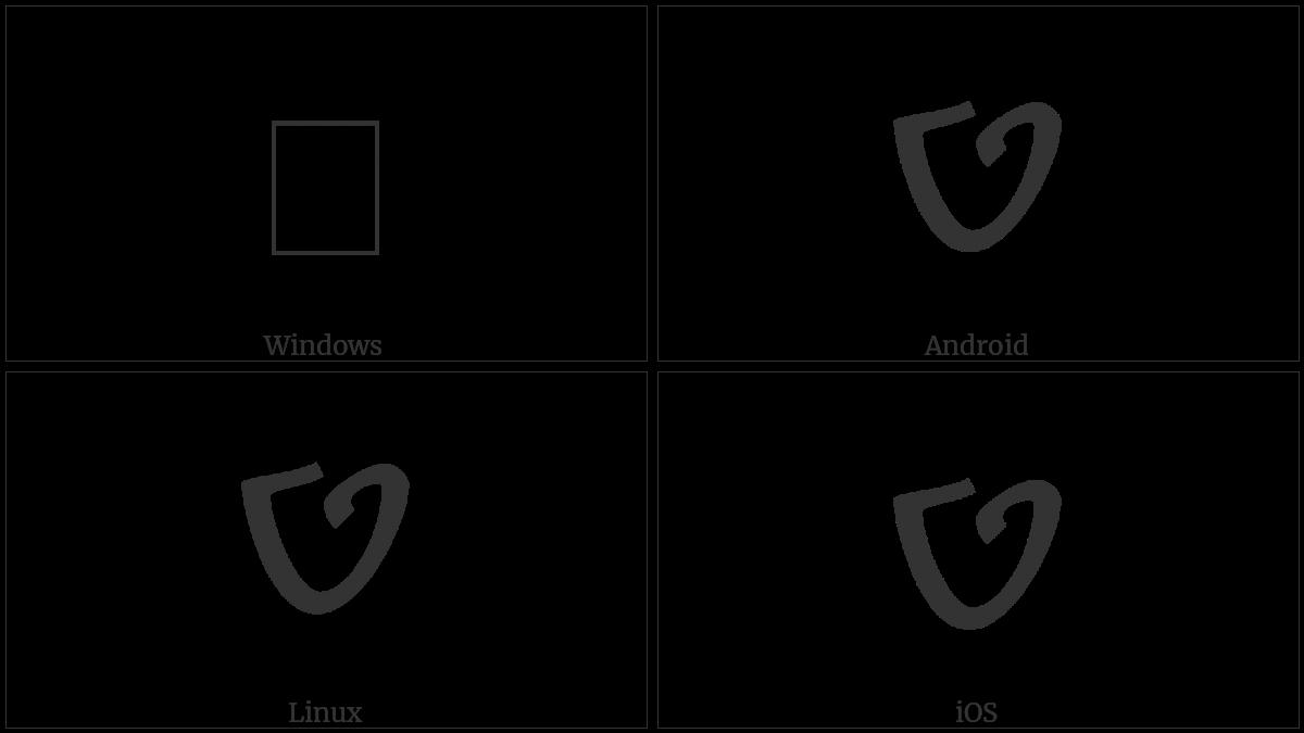 SAMARITAN LETTER TIT utf-8 character