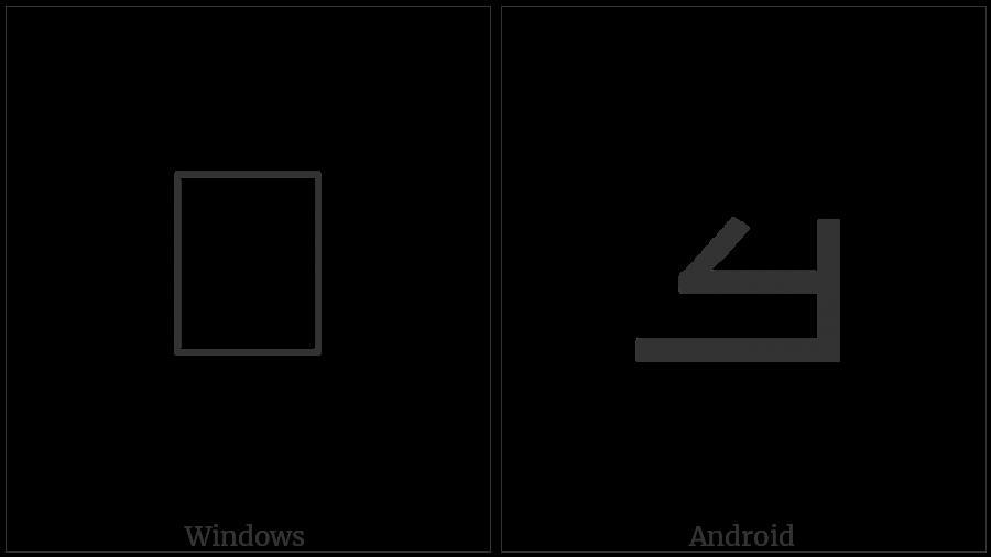 MANDAIC LETTER AR utf-8 character