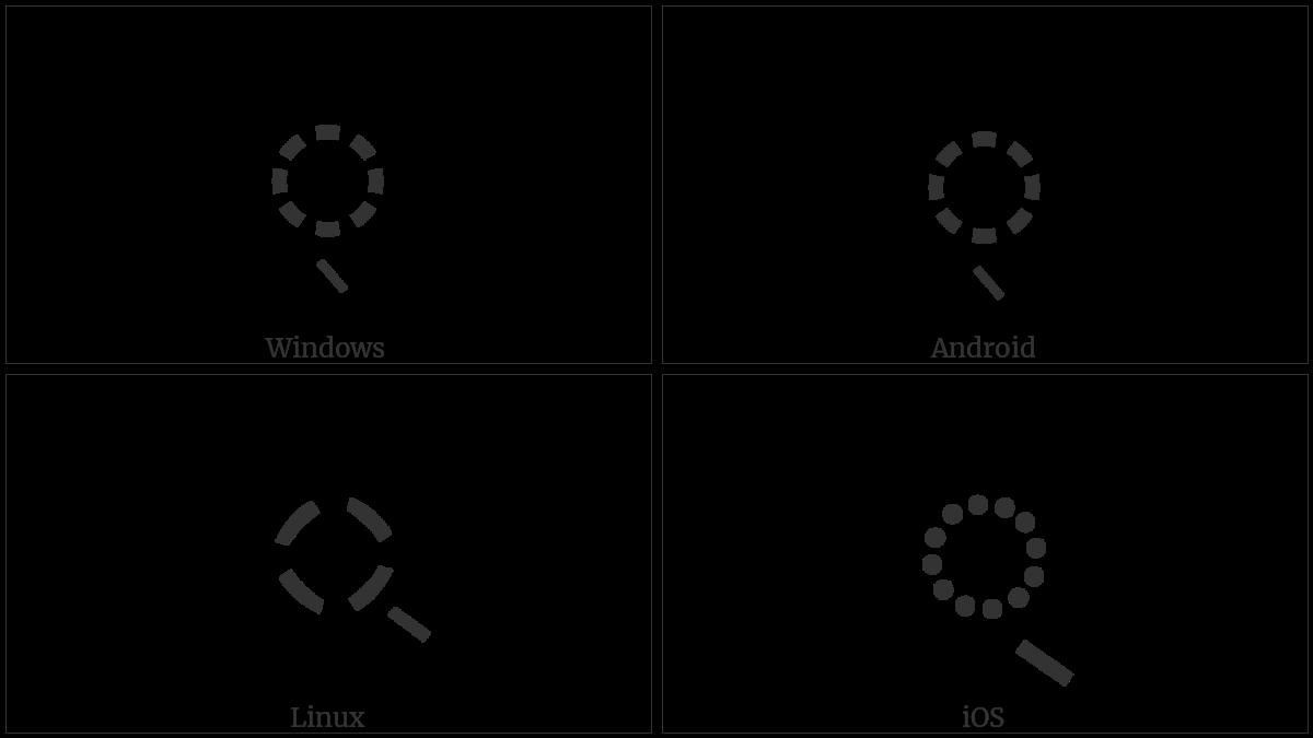Bengali Sign Virama on various operating systems
