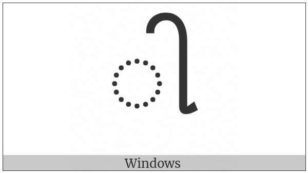 Gujarati Vowel Sign Ii on various operating systems