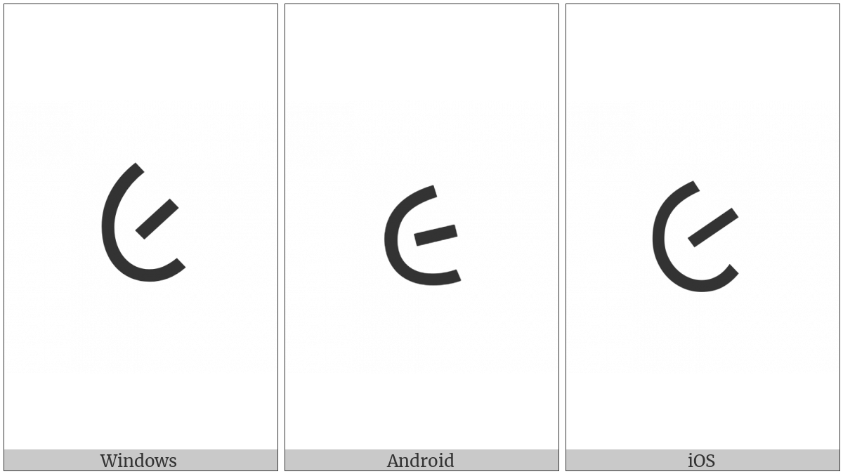 GUJARATI DIGIT NINE utf-8 character