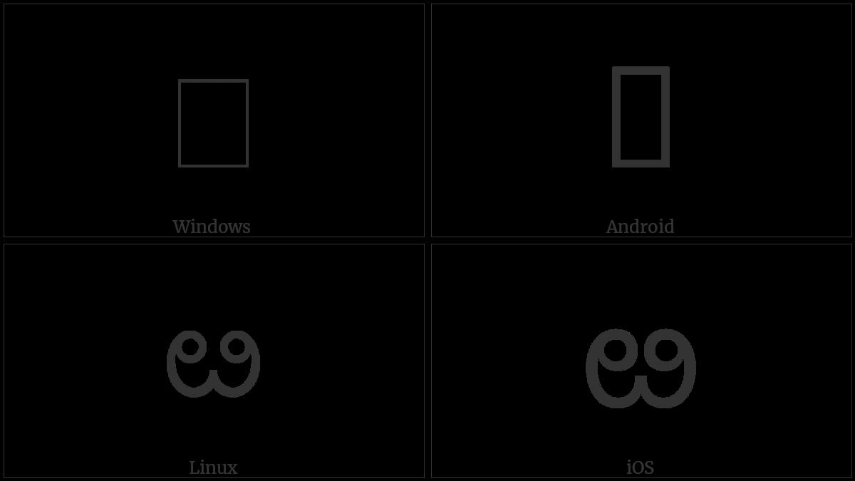 U+0C34 utf-8 character