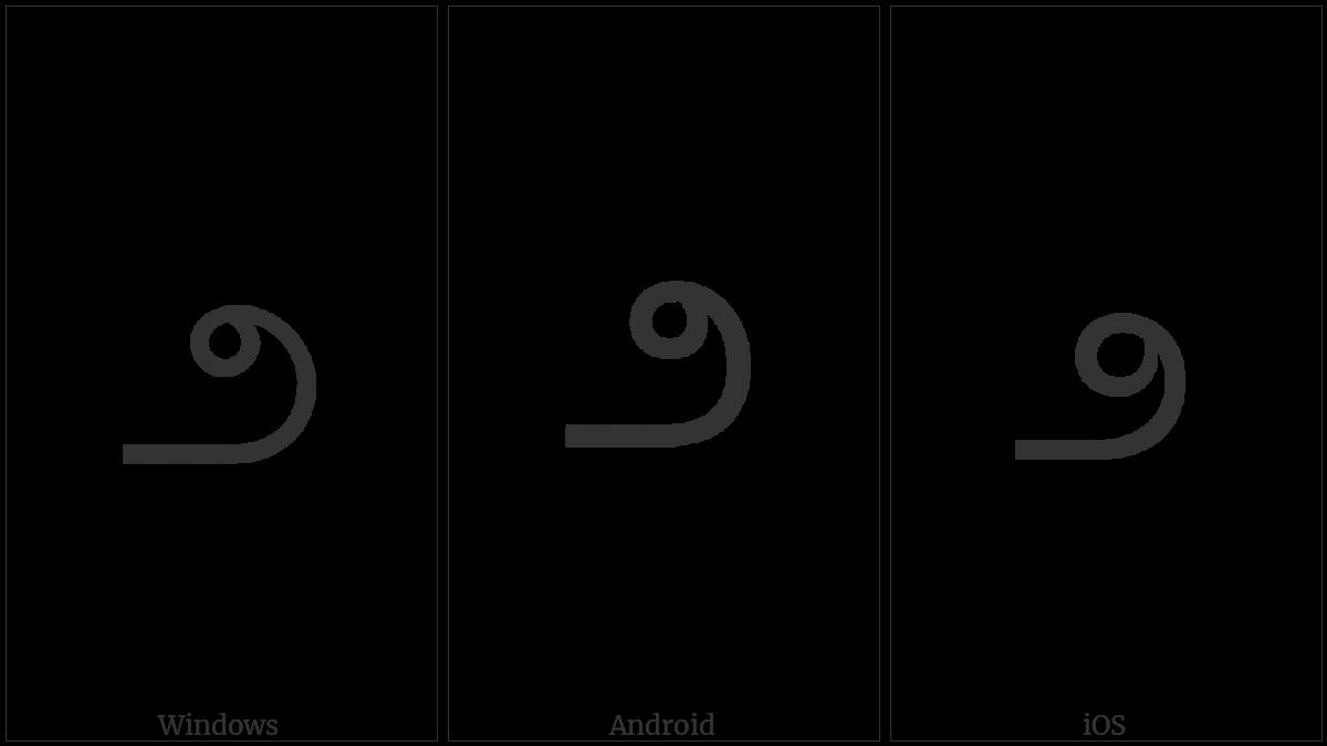 TELUGU DIGIT TWO utf-8 character