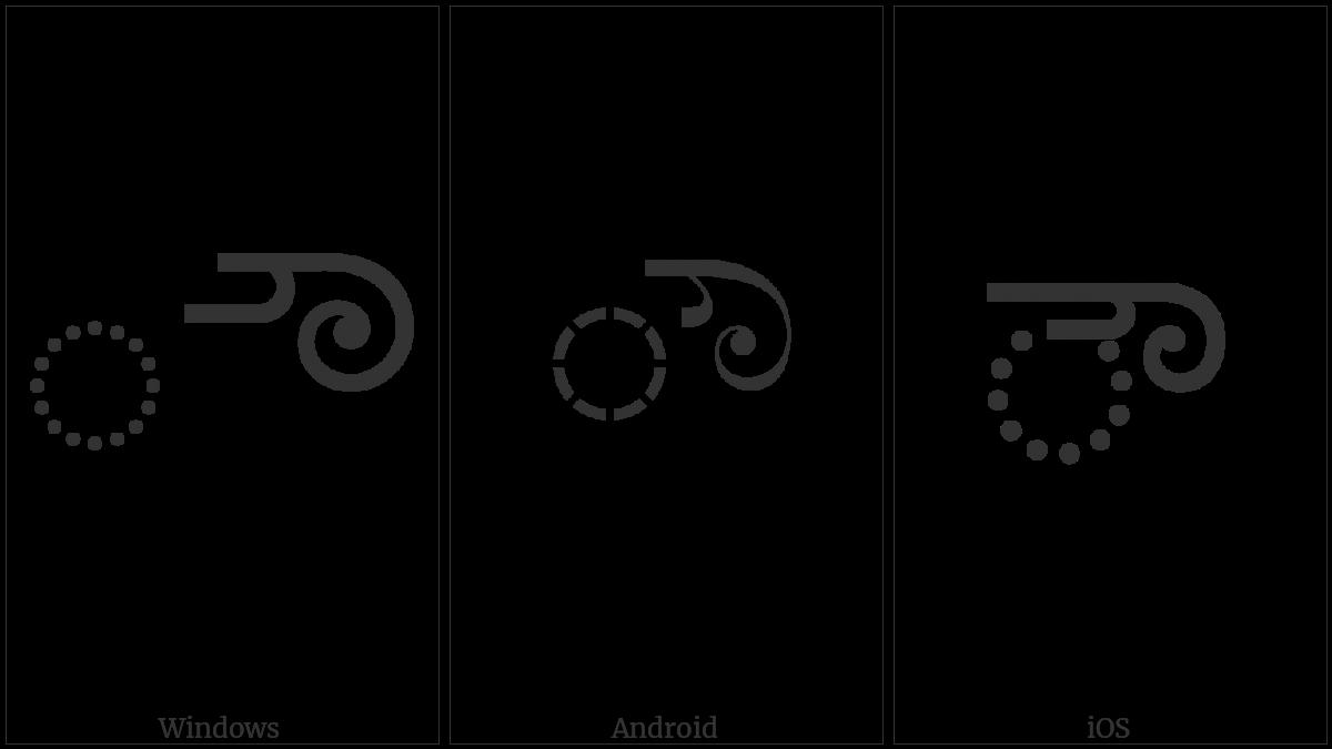 KANNADA VOWEL SIGN AU utf-8 character