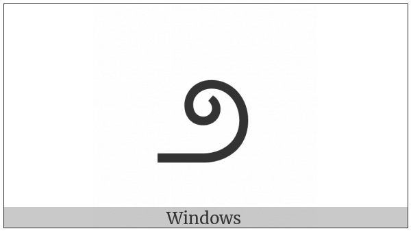 Kannada Digit Two on various operating systems