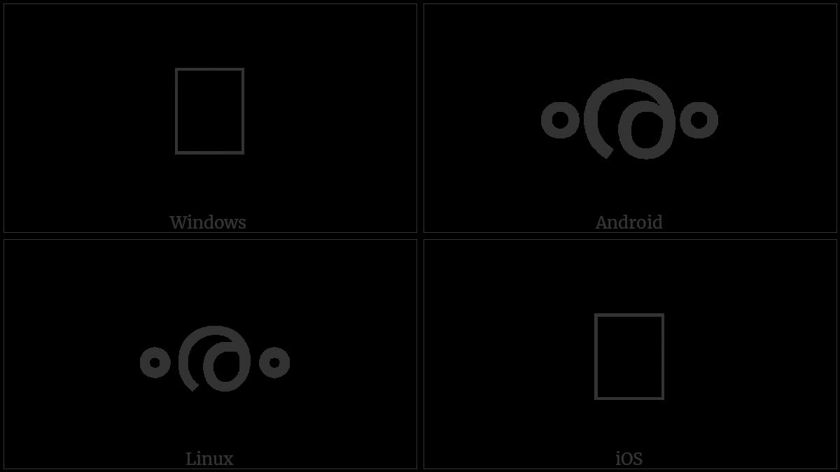 U+0D5F utf-8 character