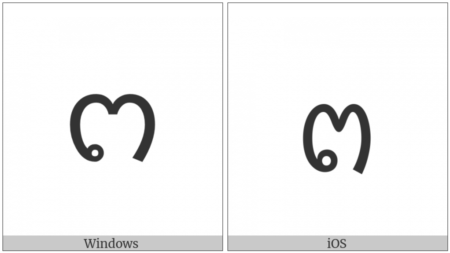 Lao Letter To on various operating systems
