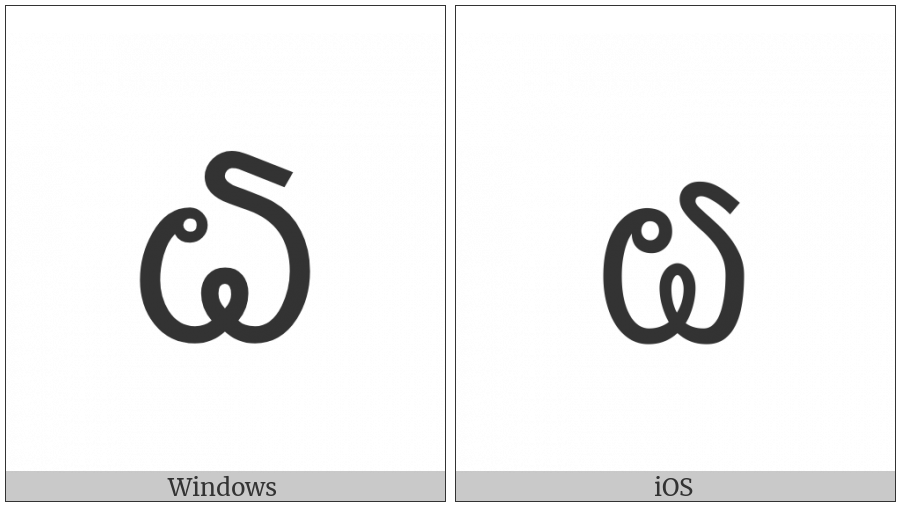 Lao Digit Six on various operating systems
