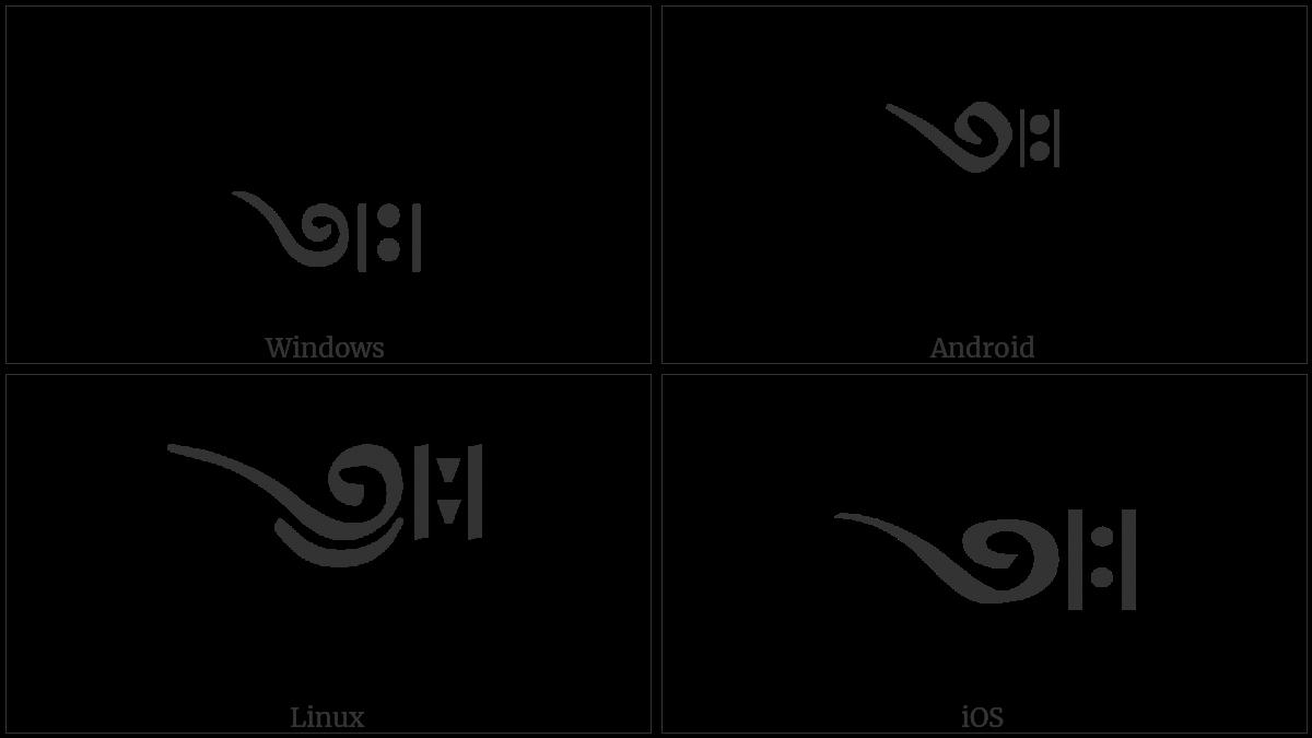 Tibetan Mark Yig Mgo Tsheg Shad Ma on various operating systems