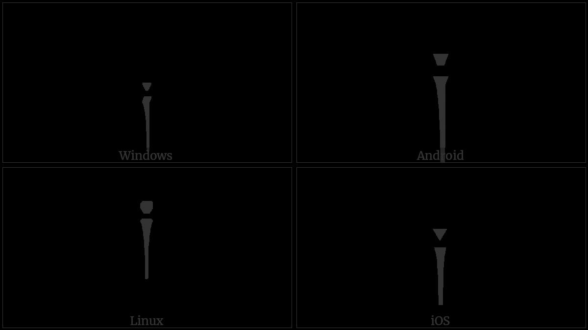 Tibetan Mark Tsheg Shad on various operating systems