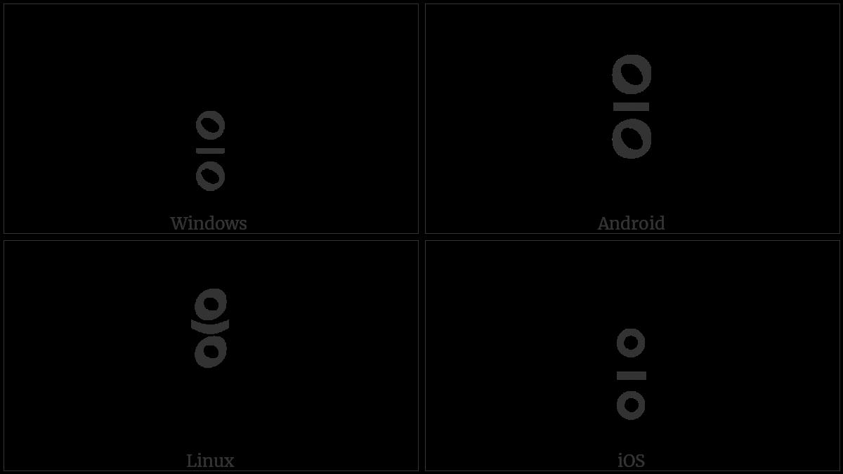 Tibetan Mark Gter Tsheg on various operating systems