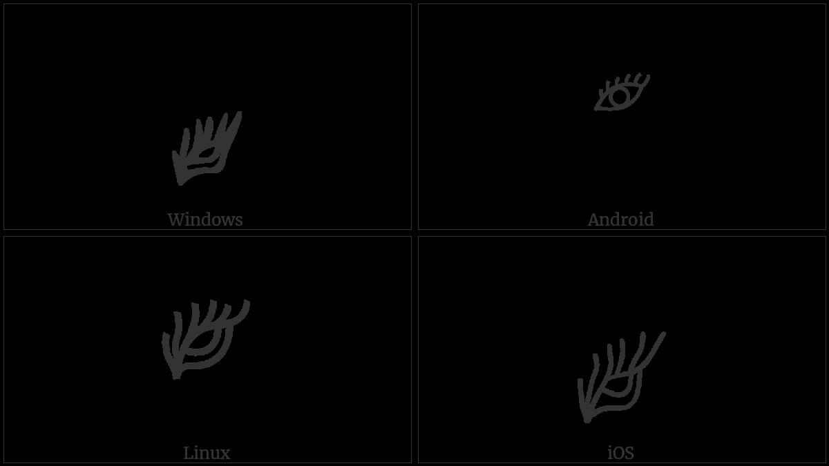 TIBETAN ASTROLOGICAL SIGN SGRA GCAN -CHAR RTAGS utf-8 character