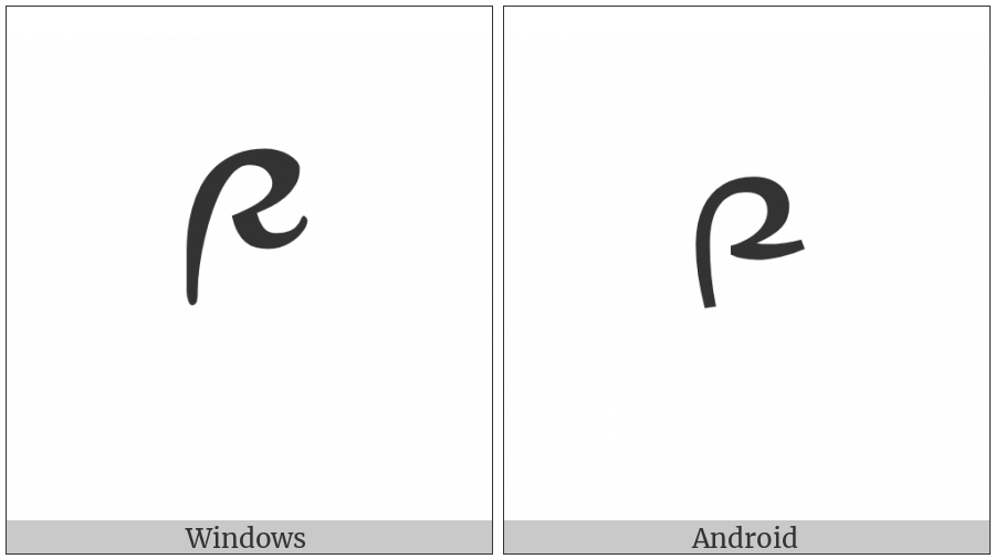 Tibetan Digit Nine on various operating systems